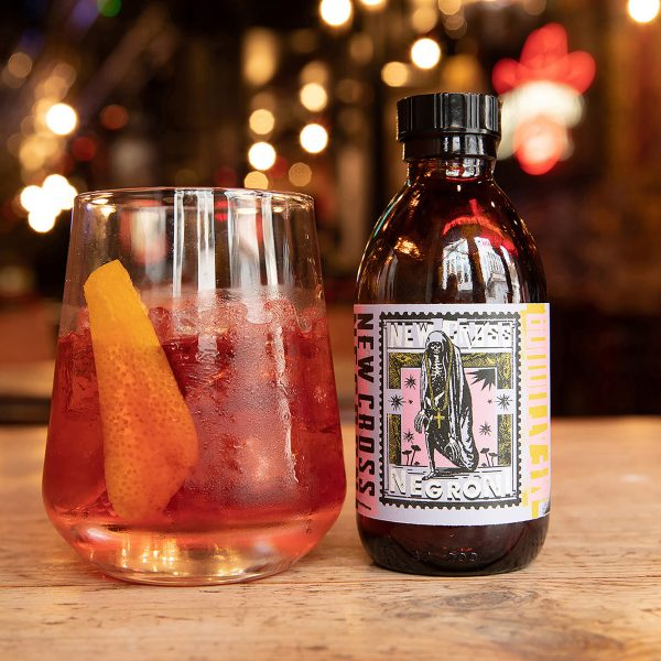 1 X NEW CROSS NEGRONI COCKTAILS